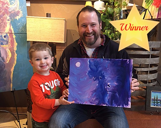 April 2017 Wysocki Painting Winner
