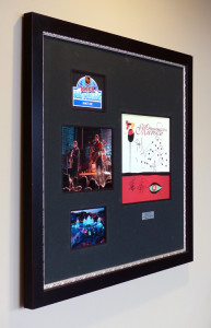 Framed Ice Castle & Bare Naked Ladies design at the Xcel Center