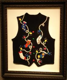FRAMED NEEDLEPOINT WORK