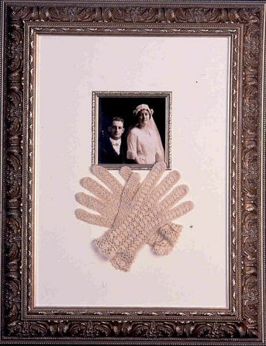 Wedding Memorabilia Frames at Kelley Gallery Art & Frame in Hudson, Roberts WI & Woodbury, MN