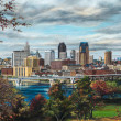 Autumn Skyline of St. Paul by Susan Amidon