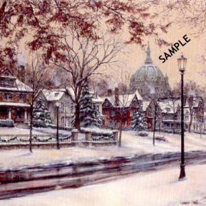 Summit Ave II by Susan Amidon, Kelley Gallery Art & Frame in Hudson, Roberts WI & Woodbury, MN