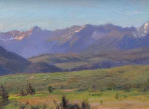 Morning on Sneffles Range by Scott Lloyd Anderson, 24x7 Oil