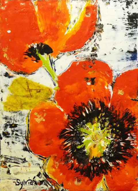Popping Pop by Sylvia Benson, Kelley Gallery Art & Frame in Hudson, Roberts WI & Woodbury, MN