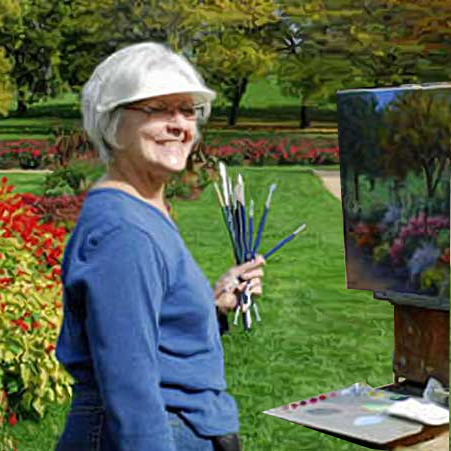Artist CeCeile Hartleib, Kelley Gallery Art & Frame in Hudson, Roberts WI & Woodbury, MN