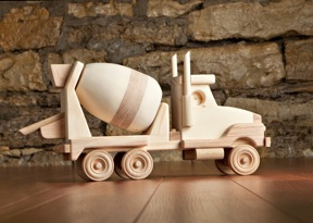 Cement Truck by Kringle Workshops