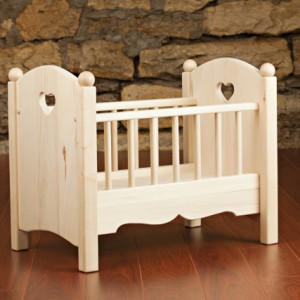 Doll Crib by Kringle Workshops