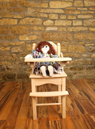 Doll High Chair by Kringle Workshops