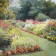 Gardeners Delight by CeCeile Hartleib, 10x8 Watercolor