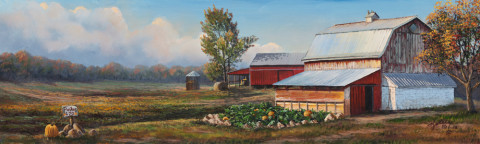 October Harvest by Rick Kelley