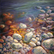 Revelation by Lynda Peterson, 30x30 Oil