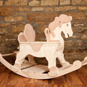 Kringle Workshops Rocking Horse