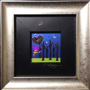 The Messenger by Barbara Lager, 3x3 Metalscape at Kelley Gallery Art & Frame in Woodbury, MN