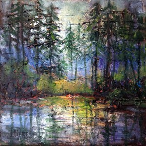 Quietude by Lynda Peterson, 8x8 Oil
