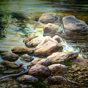 Tranquility by Lynda Peterson, 40x30 Oil