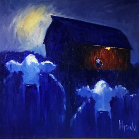 Moon Dancers by Stephen Wysocki, 36x36-Oil