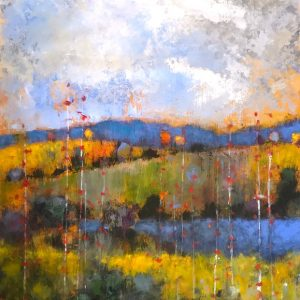 Rolling Hills II by Jeff Koehn, 36x48 Acrylic, Kelley Gallery Art & Frame in Hudson, Roberts WI & Woodbury, MN