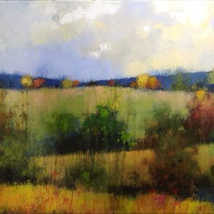 Country Vista by Jeff Koehn, 62x22 Acrylic- SOLD
