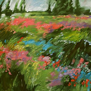 Colorfield by Judy Munro, 40x30 Oil
