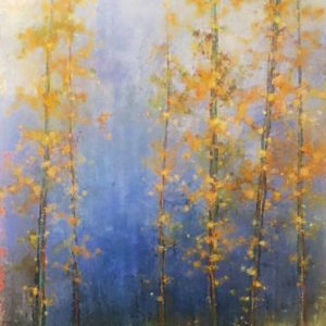 Koehn-Gold-Rush-48X60-Acrylic at Kelley Gallery Art & Frame in Woodbury, MN