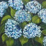 CeCe Thorpe Flower Painting at Kelley Gallery Art & Frame in Woodbury, MN
