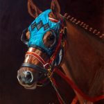 Nanci Fulmek horse art at Kelley Gallery Art & Frame in Woodbury, MN