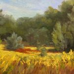 Meadow by Judith Anderson, 10x8 Oil, Framed
