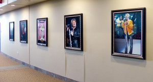Concert Photo Wall at the Xcel Center