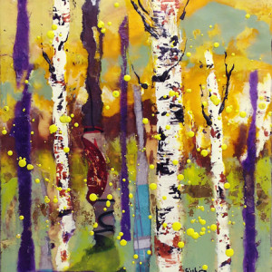 Benson--Birch-Tree-III,-8x1