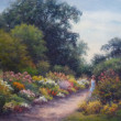 Morning Stroll by CeCeile Hartleib, 30x24 Oil