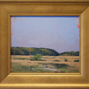 Door County Tapestry by Ben Bauer, 10x12 Oil, Framed