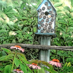 gardening birdhouse - edit