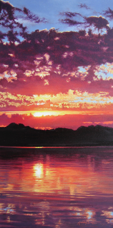 Summer Sanctuary by Ashley Dull, 12x24 Oil