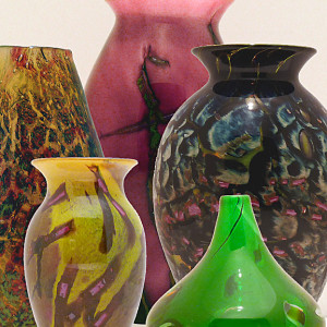 Pauly Cudd Blown Glass, Kelley Gallery Art & Frame in Hudson, Roberts WI & Woodbury, MN