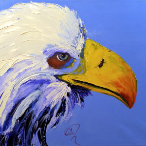 Freedom by CeCe Thorpe, 24x18 Oil