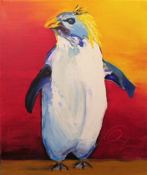 Napolean by CeCe Thorpe, 20x24 Oil