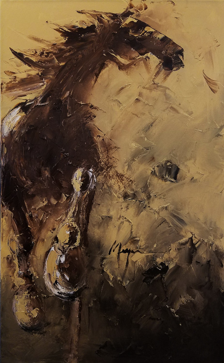 Runaway by Terry Meyer, 30x48-Oil