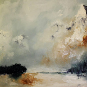 Springs Veil by Terry Meyer, 48x36-SOLD