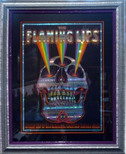 Framed concert posters at Kelley Gallery Art & Frame in Woodbury, MN
