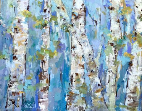 Changing by Noah Desmond 60x48 Oil at Kelley Gallery Art & Frame in Woodbury, MN